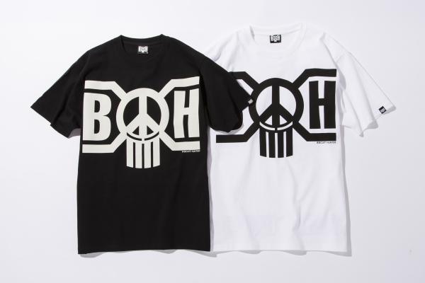 BHST BxH Peace Logo Tee ¥5 800+tax