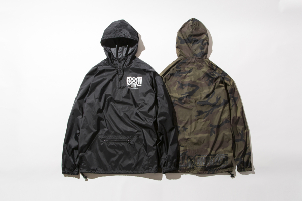 BHJK BxH Pullover Nylon Jkt ¥13 800+tax