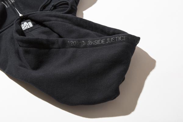 BHLC BxH Black x Black Logo Zip-up Pk Detail 14 800+tax