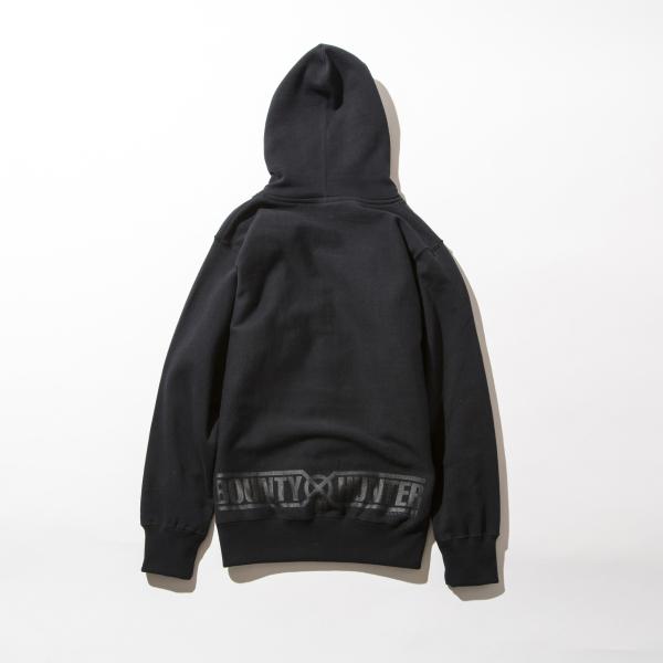 BHLC BxH Black x Black Logo Zip-up Pk Back 14 800+tax