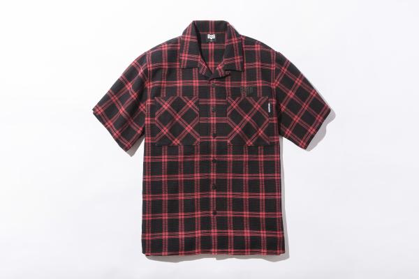 BHSH BxH Waffle Check S:S Shirts ¥14 800+tax