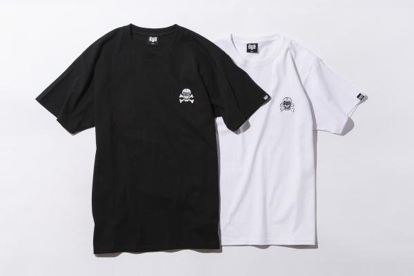 BHSC BxH Skull Embroidery Tee ¥5 600+tax