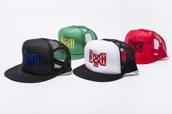 BHFA BxH Logo Mesh Cap ¥5 000+tax