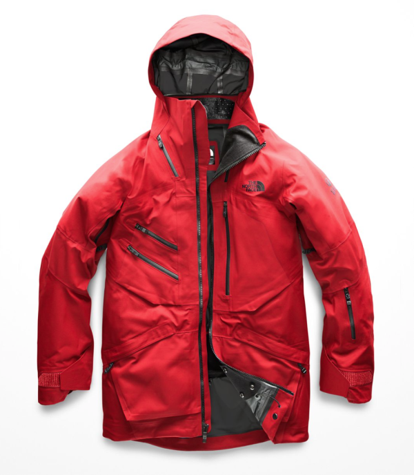 THE NORTH FACE FUSE BRIGANDINE JACKET FIERY RED FUSE